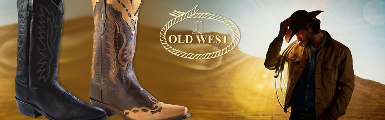 OLD-WEST-western-laarzen- -Heren